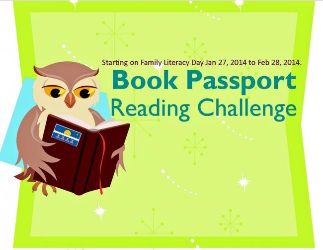 Book Passport Reading Challenge Tlicho