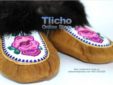 Moccasins Slippers from the Tlicho Online Store